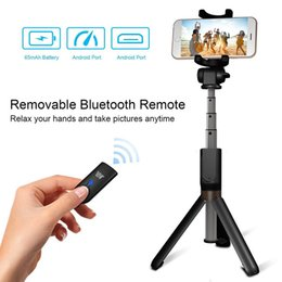 selfie monopods iphone Promo Codes - Newest Bluetooth Extendable Selfie Stick with Wireless Remote Shutter Monopods Tripod Stand for iPhone Huawei Xiaomi Phone Smartphones