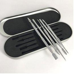 Outils ss en Ligne-Cigarette électronique Cire Daber Tool kits ss couleur Dab Outil Cire Dry Ego Dry Herb Daber Outil Moins Cher