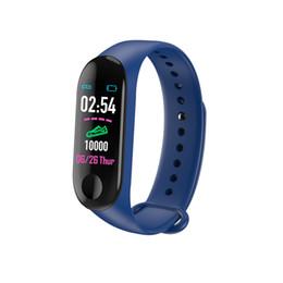 2019 gps tracker kids wholesale Montre intelligente en gros Bracelet Bluetooth Bande intelligente Étanche Smartwatch Moniteur de fréquence cardiaque Montre-bracelet fitness bracelet tracker gps tracker kids wholesale pas cher
