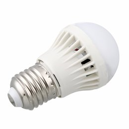 energy saving bulb 12w Coupons - E27 Motion Sensor Light Bulb Auto Smart Led PIR Infrared Body Sound Sensor Light Energy Saving Bulb 3W 5W 7W 9W 12W New