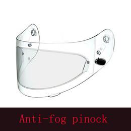 Canada Clear Pinlock Anti-buée Patch Casque intégral pour moto Casques génériques Objectif Visière anti-buée Offre