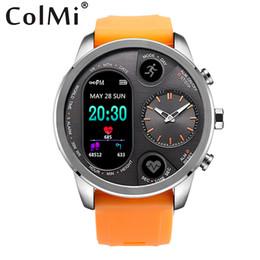 умные часы стали водонепроницаемыми Скидка COLMI T3 Спорт Гибридный Smart Watch в режиме ожидания 15 дней из нержавеющей стали Фитнес-активность Трекер IP68 Водонепроницаемый BRIM SmartWatch Мужчины