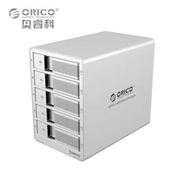 ноутбуки esata Скидка ORICO 9558RU3-SV 5-bay 3.5