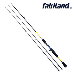 "Gießstäbe online-Fairiland 6 '6'6 ""7' Casting Rod mit ML M Power Baitcasting Rod High Carbon Angelrute Lure Fishing Pole Express Line kostenloser Versand"