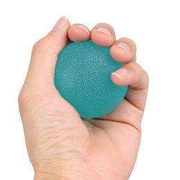 Pelota de terapia online-3pcs Grip Balls Finger Grip Strengthening Therapy Bolas de Estrés Restaurar Terapia de Manos Antebrazo Fuerza Entrenamiento Expander Hand