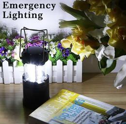Светодиодный кемпинг фонарь лампа открытый складной фонарь аварийные фонари портативный черный складной для походов кемпинг рождественские огни от