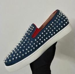 Designer de luxe marque rouge fond coloré paillettes paillettes haut-haut chaussures décontractées Seankers hommes femmes rouge-semelle à lacets plat chaussures mâles 36-47 ? partir de fabricateur