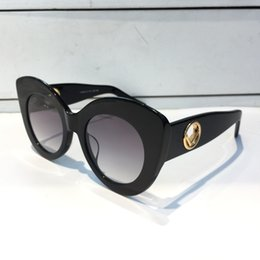 Wholesale cat tops - Luxury 0306 Sunglasses For Women Fashion Design Popular Charming Cat Eye Sunglasses Top Quality UV Protection Sunglasses Come With Package
