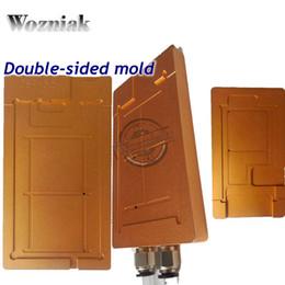 2019 suppression de la colle uv Wozniak UV Glue Clean Film polarisé Suppression de moule Support de moule pour 7 7Plus 5 6 6P 6S 6SP LCD Réparation Séparateur Outil suppression de la colle uv pas cher