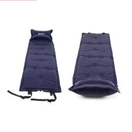 Wholesale Automatic Inflatable Cushion - Automatic Inflatable Cushion Thicken Split Joint Type Sleeping Pads Soft Moisture Proof Air Mat For Outdoor Portable 33hy B