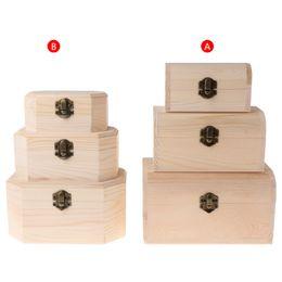 2019 браслет для часов 3pcs Vintage Jewelry Storage Box Necklace Bracelet Ring Watch Wood Case DIY Crafts Watch Boxes дешево браслет для часов
