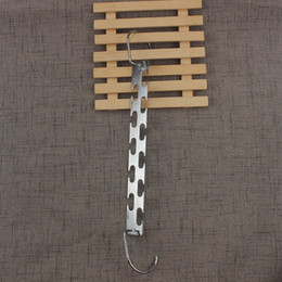 Wholesale Cheap Wholesale Coats - Coat Hangers Multi Function Racks Hook Silvery Magic Iron Hanger Two Sided Home Furnishing Articles Most Cheap 5 8cn V