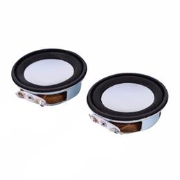 Alto-falantes do woofer on-line-2 pcs 4ohm 3 w 40mm alto-falante antimagnético pequeno acessórios de som alto-falante coluna woofer falante