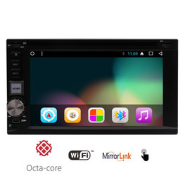 Reproductor de mp3 wifi online-Android 7.1 Reproductor de DVD para automóvil 2GB de RAM Octa Core 32GB ROM Wifi para descargar la aplicación de video musical en Dassh GPS Navigation Map
