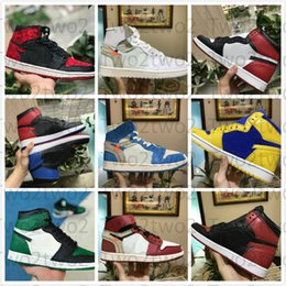 huge selection of b6880 785a5 AAA + 1 High OG-Spiel Royal Banned Shadow Bred Toe NRG UNC Weiß Herren 1s  Shattered Backboard Silver Medal Sneakers aus Basketball-Schuhe günstig ...