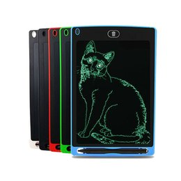 Wholesale Black White Painting Set - 8.5 inch Drawing Toys LCD Writing Erase Drawing Tablet Electronic Paperless Handwriting Pad Kids Writing Board Children Gifts