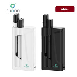 Wholesale E Max Cig Batteries - 9W Suorin IShare Starter Kit 1400mAh with 2pcs IShare Single Battery 130mAh Max Output 9W E-cig Kit