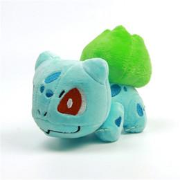 Hot Mini Figura Bambola Peluche Pikachu Charmander Gengar Bulbasaur Dragonite Snorlax Figura Giocattolo Regalo Peluche Per Bambini 8 Stili da tessuti per tappi fornitori