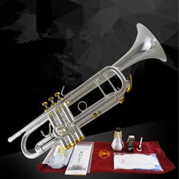 Lo strumento Tromba Baja di alta qualità 197GS riduce il pulsante B dorato per suonare la tromba della campana da
