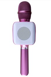 Wholesale Cell Phone Listening - Wireless Karaoke Microphone, Support for Fast Charge, Portable Karaoke Handheld Microphone MIC Singing Recording Listening for Mobile Phone,