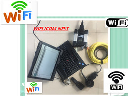 Wholesale Ista Software - newest ICOM NEXT WIFI For BMW new generation of ICOM A2 B C with HDD 2018.01 New Software ISTA D 4.09.13 P3.63 with Laptop X201T I7 4GB