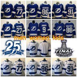 tampa lightning jersey Coupons - Hockey Tampa Bay Lightning Jerseys 25th 91  Steven Stamkos 77 Victor a750a7df1