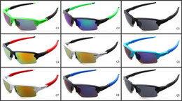 Wholesale Bike Wraps - Sports Cycling Glasses Men's Outdoor Bike Sunglasses 2018 New Sunglasses Sports Glasses 9 color optional wholesale Free Shipping