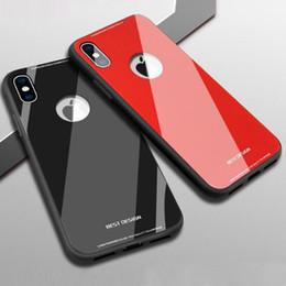 2019 корейские футляры для телефонов Чехол для телефона из хрусталя для iPhone 6G Абсолютная защита Стекло Задняя крышка мобильного телефона Корея 6G / 6P / 7G / 7G / X / 8G / 8P