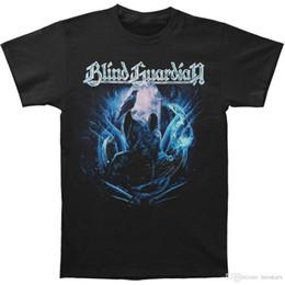 2019 camisetas ciegas 2018 nuevos hombres del verano de la venta caliente de moda Blind Guardian Men Reaper Crow T-shirt Tamaño S a 3XLMen camiseta 100% algodón imprimir camisetas