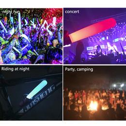 Parti Silikon Işık Sopa Konser Lightstick Su Geçirmez Glow Stick Tutan Yanıp Sönen Işık Sahne Aksesuarları USB Şarj nereden