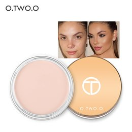 color flawless concealer Promo Codes - O.TWO.O Flawless Face Concealer Cream Oil Control Scars Freckles Black Eye Full Cover Makeup Face Base Foundation
