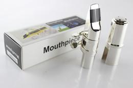 Embouchure de saxophone de haute qualité pour saxophone alto en or et en argent plaqué taille 5.6.7.8.9 Accessoires d'instruments de musique ? partir de fabricateur