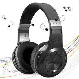 Wholesale Handsfree Bluetooth Stereo Bluedio - Free Shipping Bluedio HT(shooting Brake) Wireless Bluetooth 4.1 Stereo Headphones Mic Handsfree Call and Music Player