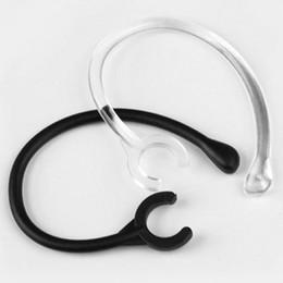 6mm neue 6pc Ohrhaken Loop Clip Ersatz Kopfhörer Bluetooth Kopfhörer transparent Ohrbügel Ersatzteile eine Größe passt am meisten von Fabrikanten