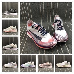 Correre maratone online-Più nuovo Marathon Zoom Fly SP Scarpa da running Mens Mesh Traspirante Cuscino 8 colori Donna Walking Casual Size 36-45