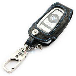 2019 mazda remote covers Caso chave de couro genuíno para bmw x3 x4 m3 m4 m5 m6 118i 328i 235i 435i 528i 640i 640i ADDAN acessórios do carro