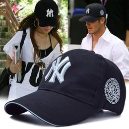 Wholesale ny wholesalers - Yankees Hip Hop MLB Snapback Baseball Caps NY Hats MLB Unisex Sports New York Adjustable Bone Women casquette Men