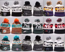 2019 шляпы для скейтборда оптом Дешевые Оптовые Горячие! Зимний бейсбол скейтборды шапочка шляпа вязаная теплая шапка футбольная команда зимние шапочки вышитые повседневная череп шапочки дешево шляпы для скейтборда оптом