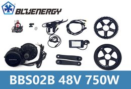 Wholesale Max Bikes - Electric Bike Bafang 8fun Mid Drive Crank Motor 48V 750W BBS02 C961 Display Controller 1300W Max Out Put Upgrade Anyone Part