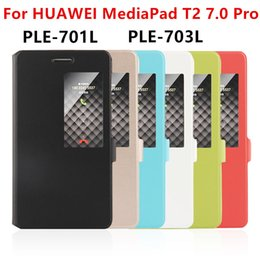 Wholesale Mediapad Youth - Case PU For Huawei MediaPad T2 7.0 Pro Smart cover Protective Leather Tablet For HUAWEI Youth PLE-701L PLE-703L Case Protector