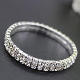 Moda elmas gelin bilezikler tasarımcı Lüks Kristal gelin takı bilezikler kadınlar için Ucuz düğün aksesuarları su matkapla ... nereden
