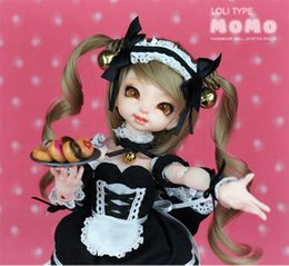 Wholesale momo doll - OUENEIFS Dollpamm Momo bjd sd yosd toy 1 6 model reborn baby girls boys dolls eyes High Quality toys shop make up resin anime