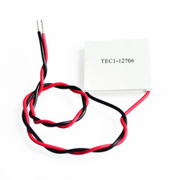 Wholesale tec1 peltier - Safe shipping 2 pieces lot TEC1-12706 Thermoelectric Cooler Peltier Plate TEC 12V New