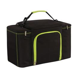 Bolsa para gelo on-line-27L super grande capacidade refrigerador à prova d 'água saco de grande piquenique caixa de almoço isolamento do veículo bolsa de ombro legal bolsa de gelo fresco bolsas