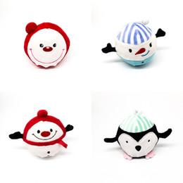 Pelzspielzeug online-Kawaii Spaß Weihnachten pelzigen Squishies Spielzeug Charme langsam steigende Spielzeug Weihnachten Plüsch Squeeze Anti-Stress Rebound Doll