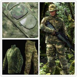 2019 kampfanzug A-TACS FG Tactical Combat Shirt Hose Unform Anzug BDU US Assault rabatt kampfanzug