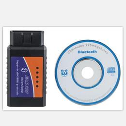 Wholesale Car Android Skoda - 2017 ELM 327 Bluetooth V2.1 Interface Work On Android Torque Elm327 Bluetooth OBD2 OBD II bluetooth Car Diagnostic-tool