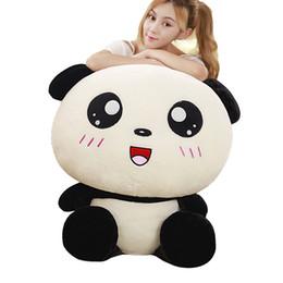 Cerimonia nuziale della panda online-Dorimytrader Kawaii Morbido Grande Animale Panda Peluche Peluche Cartoon Pandas Bambola Cuscino Scherza il Regalo di Nozze Deco 43 pollici 110 cm DY60765