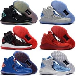 Wholesale Corsa Black - 2018 Basketball Shoes Sneakers Air 32 Flights Speed Men Gold Retro 32s XXXII Rosso Corsa Day Brand Man Tennis Sport Shoe