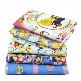 weiße seide tüll perlen Rabatt 50 * 145 CM Patchwork gedruckt Cartoon Polyester Baumwolle für Tissue Kinder Bettwäsche Heimtextilien für Sewing Tilda Puppe, C459